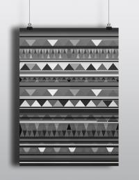Kelim Pattern Poster