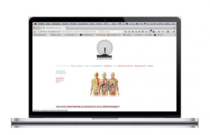 Judith Sauer Website